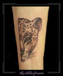 panter tijger onderarm