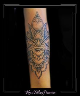 mandala kant onderarm