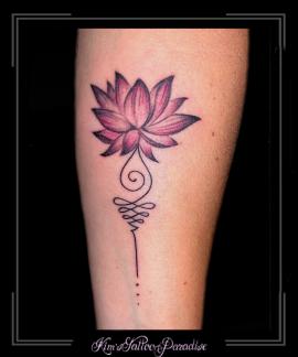lotus,unalome,unaloom,kriebels,krullen,onderarm,kleur,