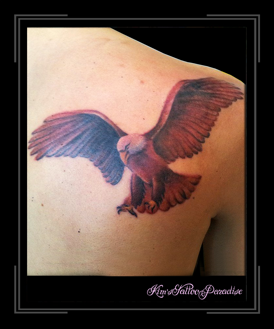 Tattoo Adelaar  Bird Eagle Vogel