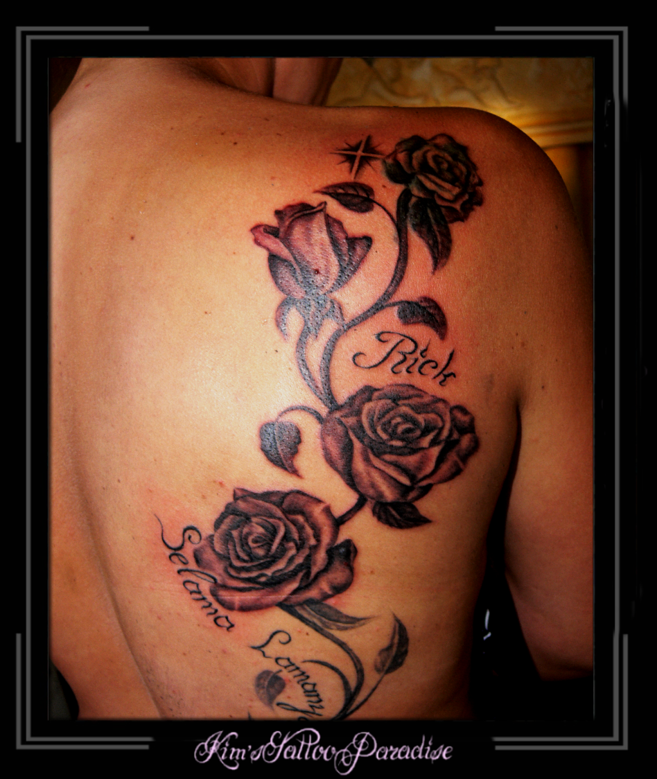 Naam voorbeelden tattoo kind Naam tattoo