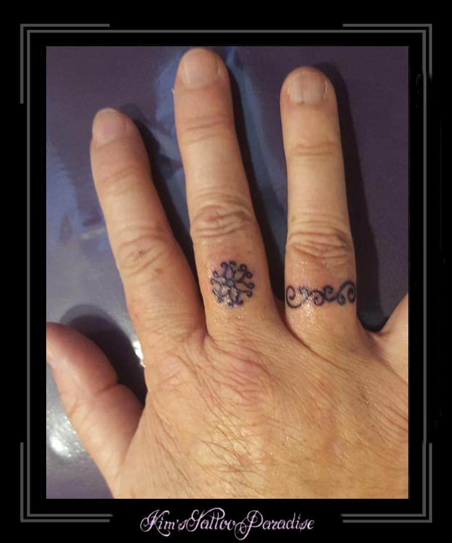 Vinger Tattoo Kims Tattoo Paradise