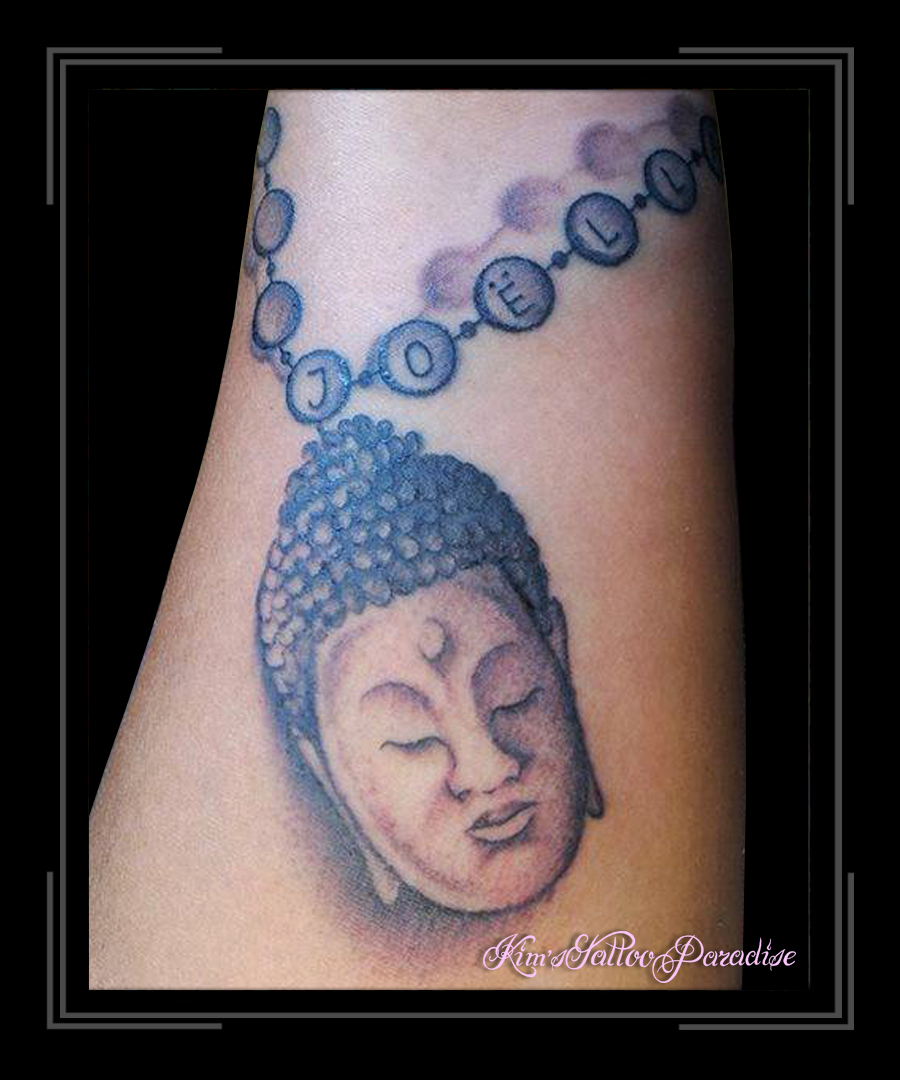 Boeddha Ketting  Kims Tattoo Paradise