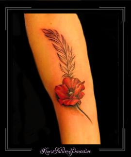 1_klaproosveeronderarmkleurbloemen