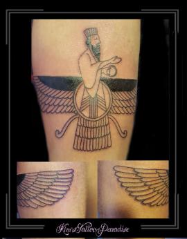 armband imam egypte arabisch man priester vleugels