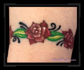 armband met roosje