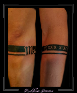 armband,romeinse cijfers,datum,sterrenbeeld,schorpioen,