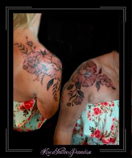 bloemen-pioenrozen-minimalistischschouderarmsleutelbeen