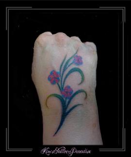 bloemen tak hand