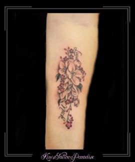 bloesem bloemen namen onderarm