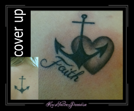 cover up anker met hart en faith