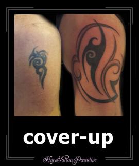 coverup tribal bovenarm