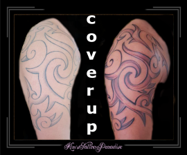 coverup tribal bovenarm