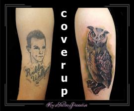 coverup uil bovenarm