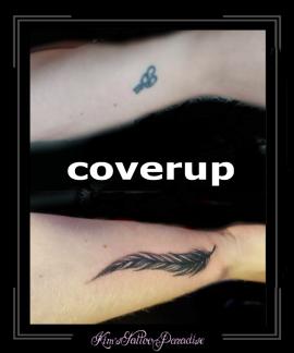coverup veer onderarm