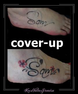 coverup voet