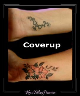 coverup,pols,bloemen,