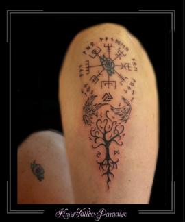 coverup,runen,levensboom,runentekens,symbolen,symbol,symbool,bovenarm,