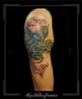 draak bovenarm