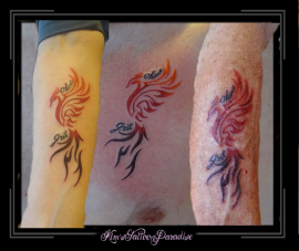 family tattoo phoenix