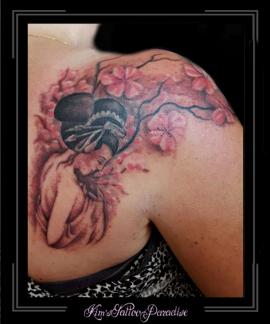 geisha schouder bovenarm