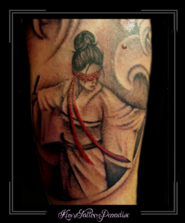 japanse krijger chinees onderarm