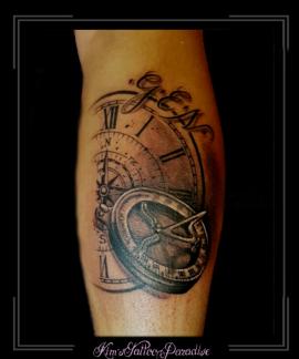 kompas klok kuit