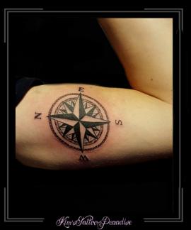 kompas,bovenarm,