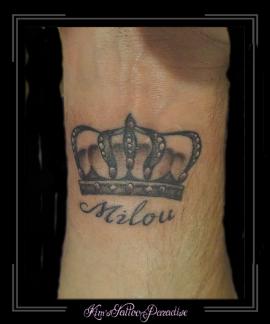 kroon en naam