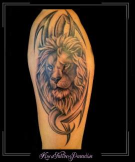 leeuw in tribal