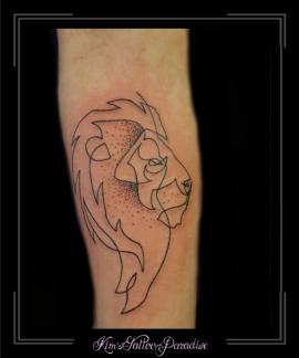 leeuw oneliner onderarm