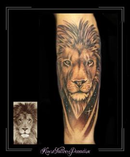 leeuw portret1 onderarm