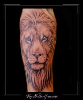 leeuw,roofdier,onderarm,