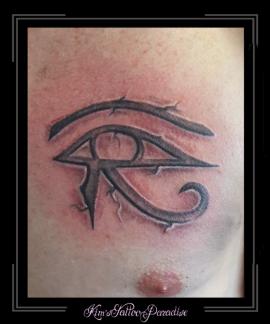 logo symboo oog van hores horus borst