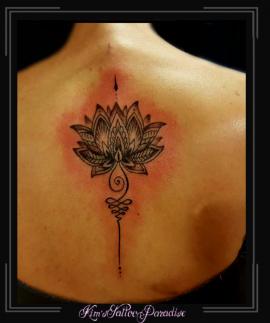 lotus mandala unalome infinity rug