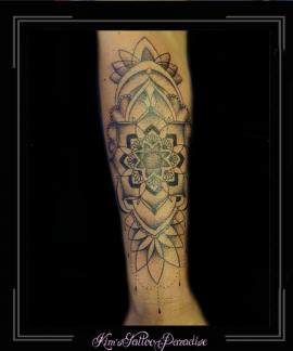 mandala,bloem,onderarm,