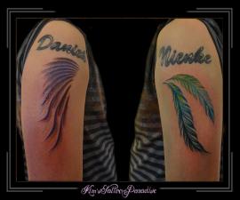 namen en veren en vleugels