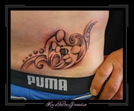 ouder moeder kind tattoo