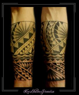 polinesisch maori onderarm