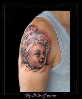 portret baby