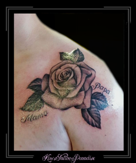 roos rozen boemen tekst schouder