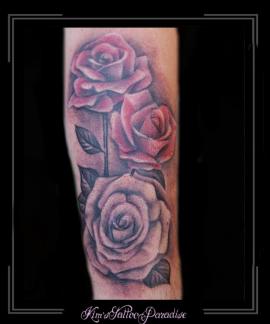 rozen bloemen familie family onderarm liefde love