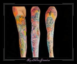 sleeve-full-color-kleualfganeishadromenvangerbloemenveeruilegelbijslaklevensboom