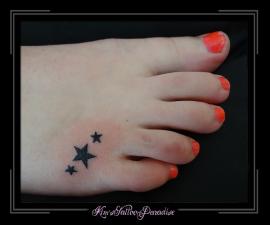 sterretjes voet