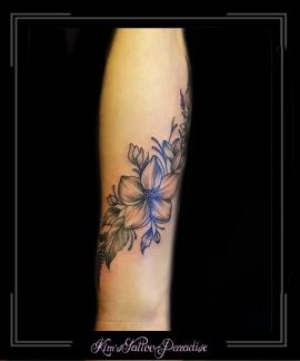 tak bloemen bloesem onderarm