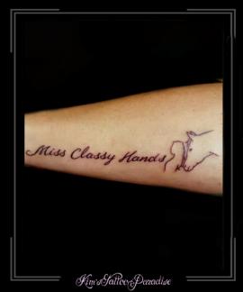 tekst,naam,vrouw,paard,schets,tekening,onderarm,