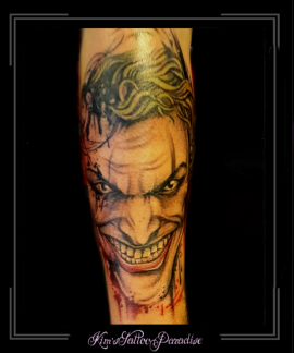 the joker, batman,film,acteur,onderarm,