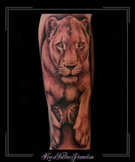 tijgerleeuwonderarm