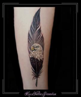 veer,arend,roofvogel,onderarm,