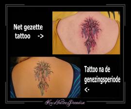 verse en genezen tattoo